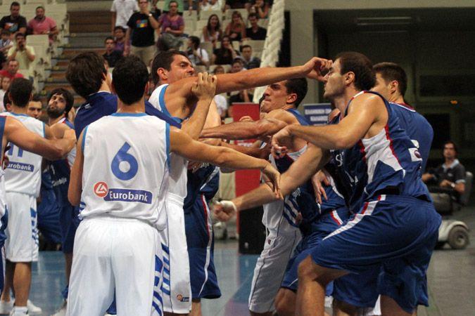 Ελλάδα - Σερβία 19/8/10 Πηγή: protothema.gr