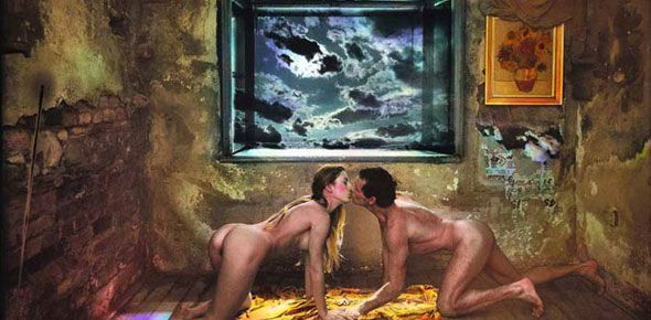 Homage to the Great Vincent, 1989 JAN SAUDEK, czech photographer