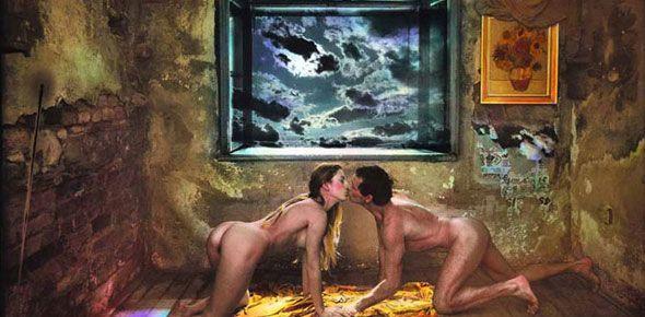 Homage to the Great Vincent, 1989 JAN SAUDEK, czech photographer
