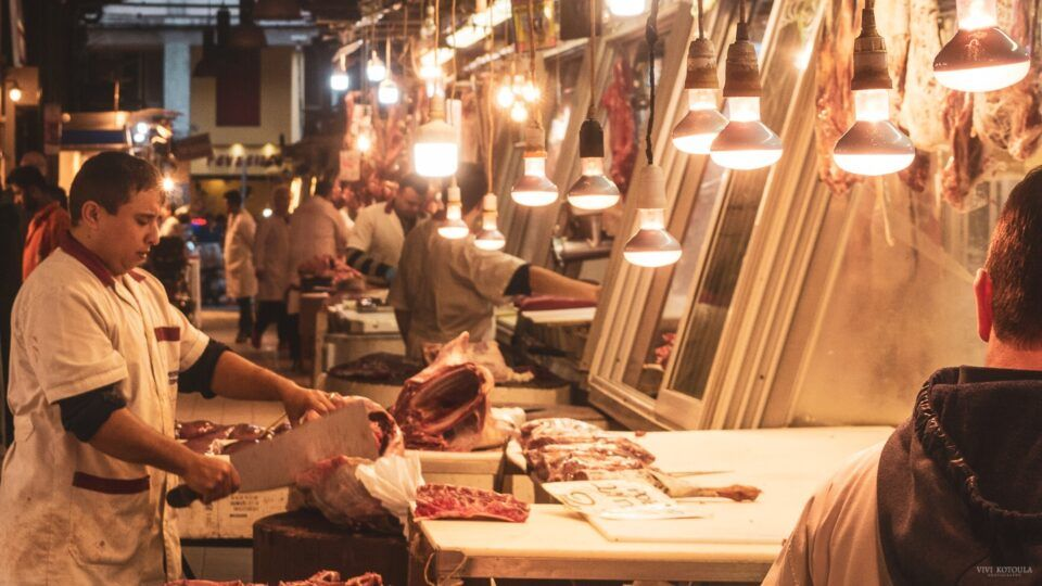 Βαρβάκειος αγορά. Διήγημα Πάρις Κουτρουμανός